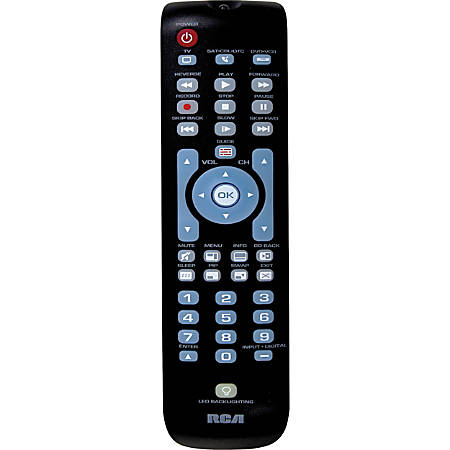 RCA RCRN03BR Universal Remote Control