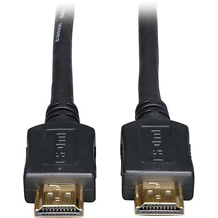 Tripp Lite High Speed HDMI Cable Ultra HD 4K x 2K Digital Video with Audio (M/M) Black 12ft