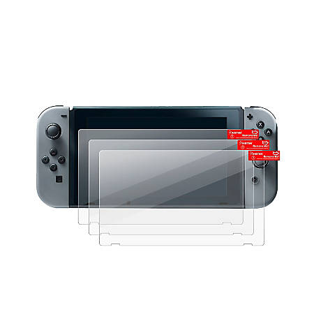 Insten Clear Screen Protector For Nintendo Switch, 3-Piece Set