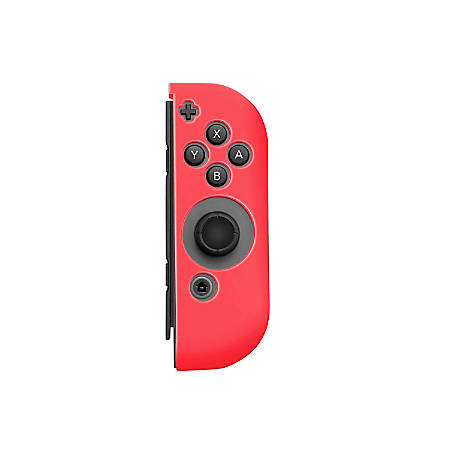 Insten Silicone Skin Case Cover For Nintendo Switch Right Joy-Con Controller, Red
