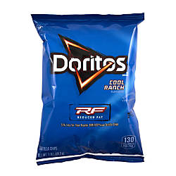 Doritos Reduced Fat Cool Ranch Chips