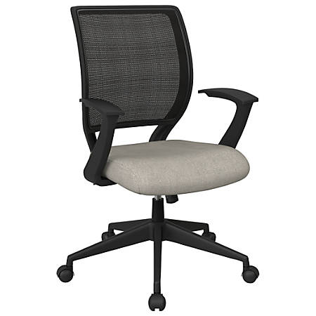 Office Star™ Work Smart Mesh Task Chair, Sky/Black