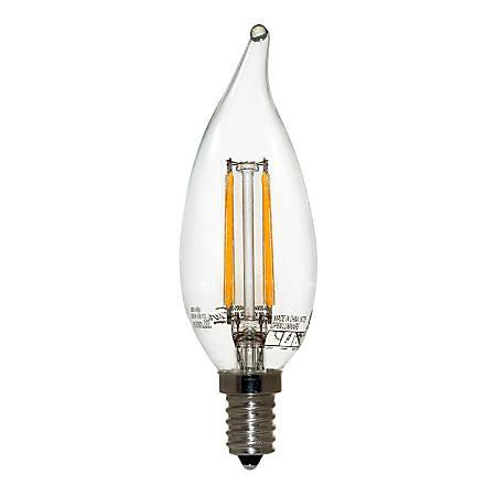 Euri BA10 Dimmable 330 Lumens LED Bulb, 4 Watt, 2700 Kelvin/Soft White