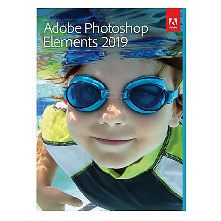 Adobe® Photoshop Elements 2019, For PC And Apple® Mac®, POS-Activated