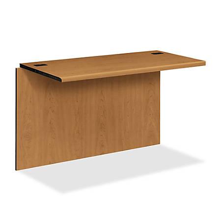 HON® 10700 Series™ Prestigious Laminate Desk Bridge, Harvest Cherry