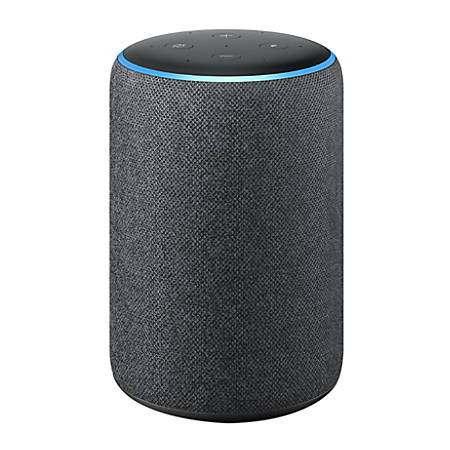 Amazon Echo Plus 2nd Generation Smart Speaker, Charcoal