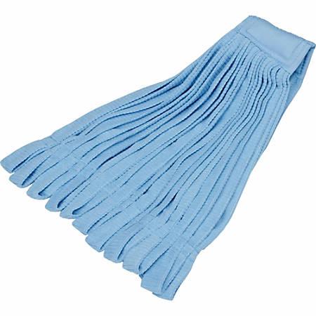 SKILCRAFT® Microfiber Tube Mophead, Blue