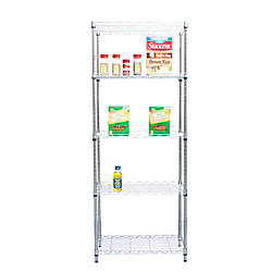Mind Reader Heavy Duty Metal Shelving