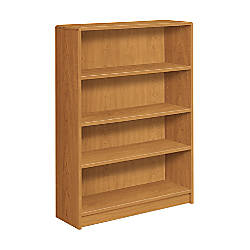 HON Radius Edge Bookcase 4 Shelves