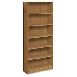 HON Radius Edge Bookcase 6 Shelves