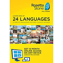 Learn French Rosetta Stone French 12