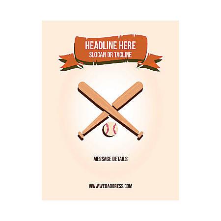 Custom Flyer, Vertical, Baseball