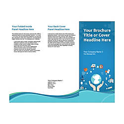 Customizable Trifold Brochure Health Cycle