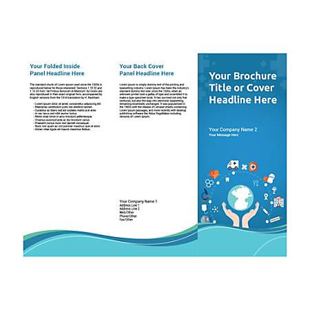 Customizable Trifold Brochure, Health Cycle