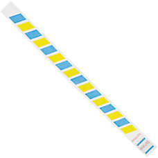 Office Depot Brand Tyvek Wristbands Stripes