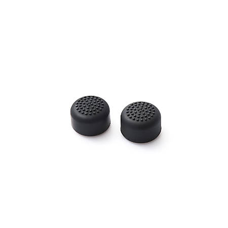 Insten 2-piece Set Controller Analog Thumbstick Cap For Nintendo Switch, Black