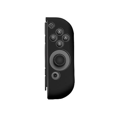 Insten Silicone Skin Case Cover For Nintendo Switch Right Joy-Con Controller, Black