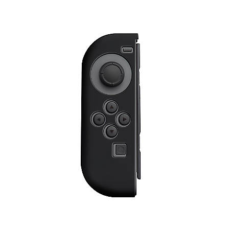 Insten Silicone Skin Case Cover For Nintendo Switch Left Joy-Con Controller, Black
