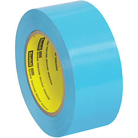 """Scotch® 8898 Tensilized Poly Strapping Tape, 3"""" Core, 2"""" x 60 Yd., Case Of 24"""