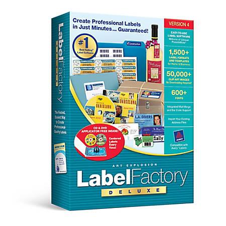 Label Factory Deluxe 4, Download Version
