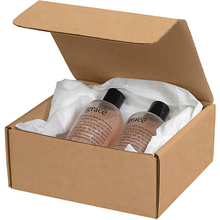 "Office Depot® Brand Literature Mailers, 12"" x 12"" x 6"", Kraft, Pack Of 50"