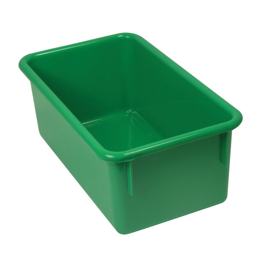 Stowaway Storage Container No Lid 5 12 H x 8 W x 13 12 D Green Pack