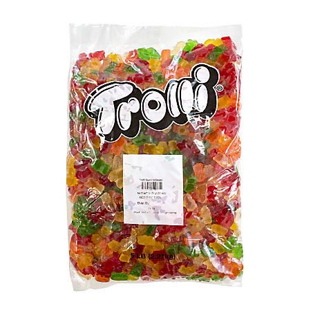 Trolli Soft Gummi Bears, Assorted Flavors, 5 Lb Bag