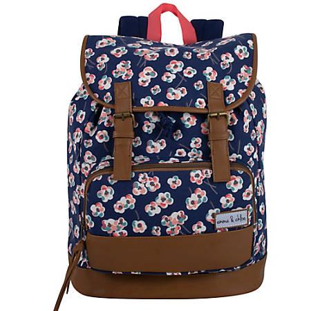 Trailmaker Travel Backpack, Blue/Brown