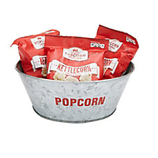 Mind Reader Stainless Steel Popcorn Bowl