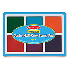 Melissa Doug Jumbo Multicolor Stamp Pad