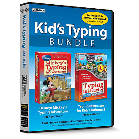 Individual Software Kids' Typing Bundle, Traditional Disc