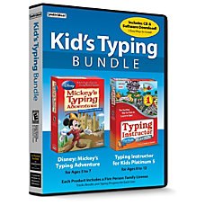 Individual Software Kids Typing Bundle Traditional