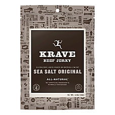 KRAVE Jerky Sea Salt Original Beef