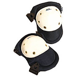NAVY PROLINE KNEE PADS WBUCKLE FASTENING