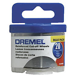 BULK PACK REINFORCED CUT OFF WHEELS