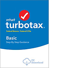 TurboTax Basic Fed Efile 2017 Windows