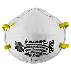 3M N95 Particulate Respirator 8210Plus White