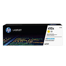 HP LaserJet 410X High Yield Yellow