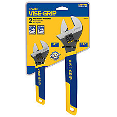 IRWIN Two Piece Adjustable Wrench Set