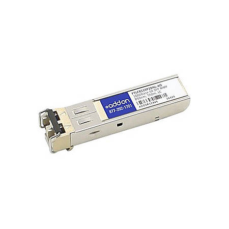 AddOn Finisar FTLF8519P2BNL Compatible TAA Compliant 1000Base-SX SFP Transceiver (MMF, 850nm, 550m, LC)