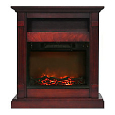 Cambridge Sienna Fireplace Mantel with Electronic