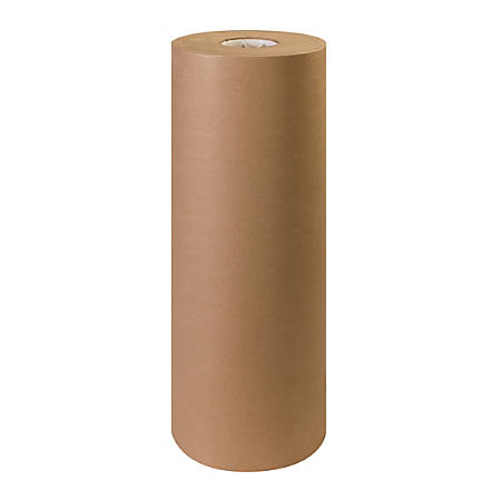 "Office Depot® Brand 100% Recycled Kraft Paper Roll, 30 Lb, 24"" x 1,200'"
