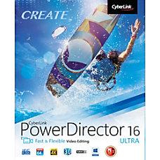 CyberLink PowerDirector 16 Ultra Download Version