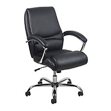 OFM Essentials Ergonomic Leather High Back