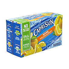 Capri Sun Orange Juice Drink Blend
