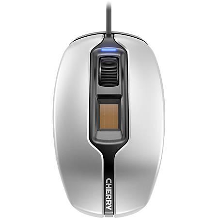 CHERRY MC 4900 Mouse - Optical - Cable - Black, Silver - USB - 1375 dpi - Scroll Wheel - 3 Button(s) - Symmetrical