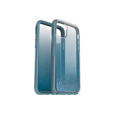 OtterBox iPhone 11 Symmetry Series Case - For Apple iPhone 11 Smartphone - Metallic Texture Strikes - We'll Call Blue - Drop Resistant - Polycarbonate, Synthetic Rubber