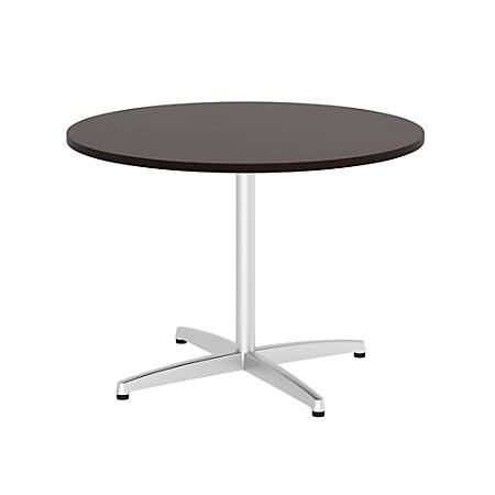 Bush Business Furniture W Round Conference Table With Metal X - Office depot conference table
