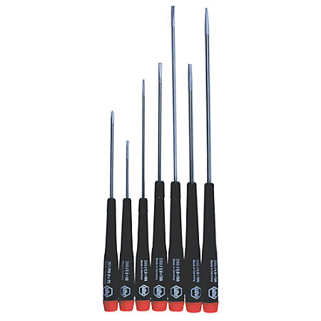 Wiha Tools 7-Piece Slotted/Phillips Precision Set