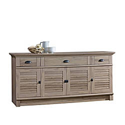 Sauder Harbor View Credenza For 70
